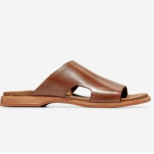 Cole Han Goldwyn Men's Slide Sandal - British Tan